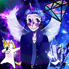 interesting galaxy oc blue diamond