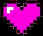 corazones corazon heart hearts pixeles