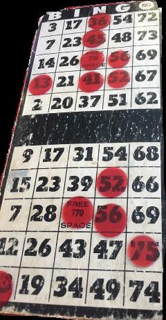 bingo freetoedit ftenumbers
