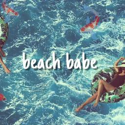 leamichele beach ocean editedbyme