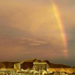 artistic colorful rainbows rainbowlight rainbowmagiceffect
