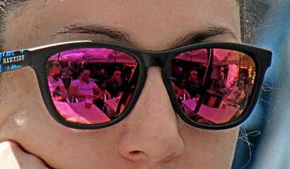 photography streetphotography mirror woman people freetoedit