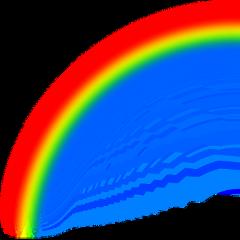 радуга радуга🌈 радугаааааа стикер freetoedit