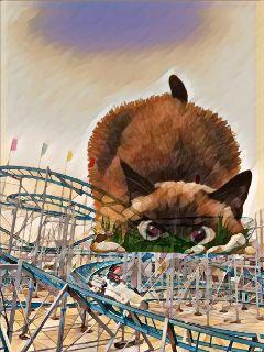 freetoedit rollercoasterremix