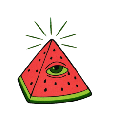 tumblr illuminati freetoedit watermelon