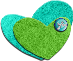 hearts green turquoise love freetoedit