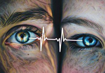 heartbeatstickerremix freetoedit heartbeat eyes connected