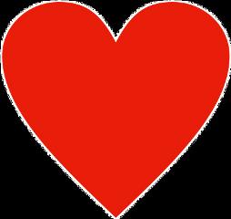 cute red heart freetoedit