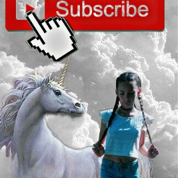 tumblr unicorn sky