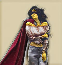 freetoedit superhero woman