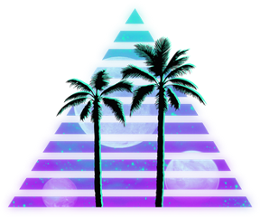 vaporwave tumblr palmtrees freetoedit
