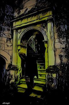 vampire popart dark horror