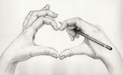freetoedit hands heart drawing