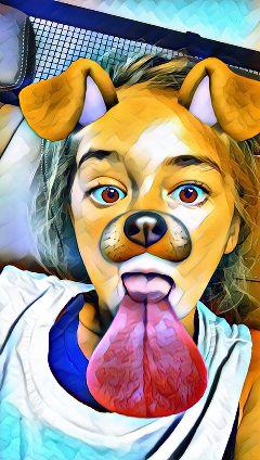 dog animal me as a