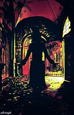 spooky popart retro vintage horror