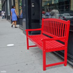 bench red freetoedit newyorkcity myoriginalphotothank