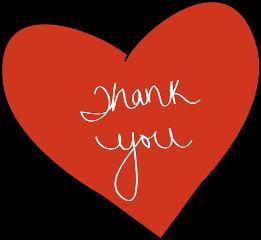 ftestickers thank heart freetoedit