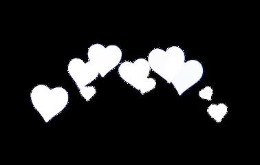 interesting crown heart heartcrown white