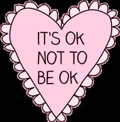 itsok disturbed depressed sad support