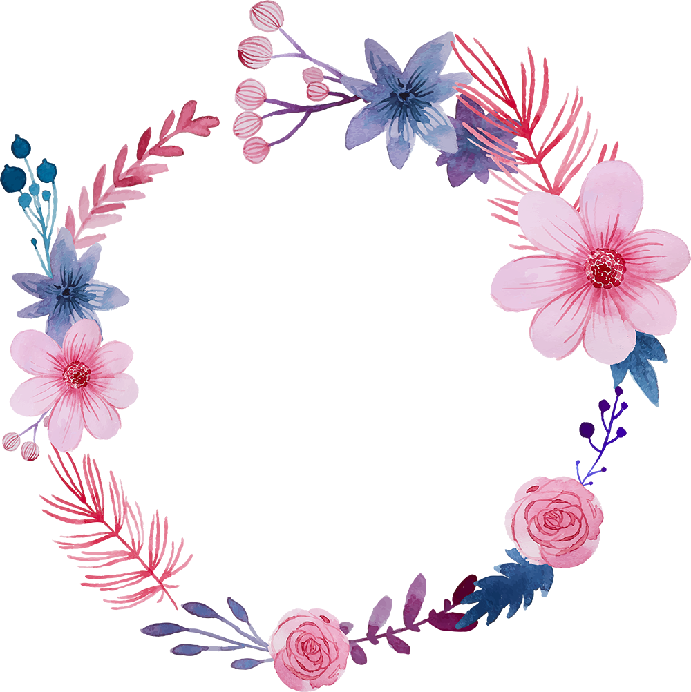 Arco Flores Sticker By Janehery Platine