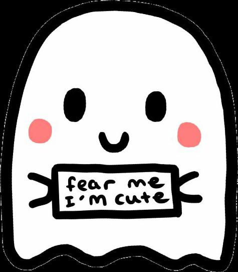 #tumblr #cute #ghost #inscription