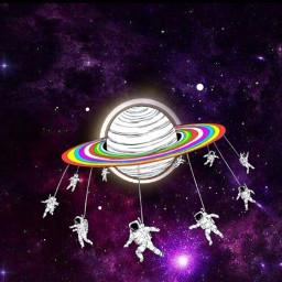 Cosmos Space TotalSolarEclipse Eclipse SolarEclipse Galaxy FreeToEdit