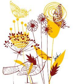 maedow meadowdreams flowers bird butterflies