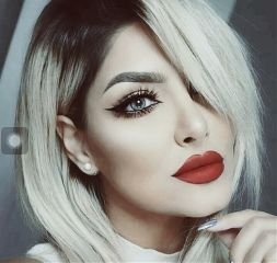 girly beautifulhair hairstyle haircolor redlips freetoedit