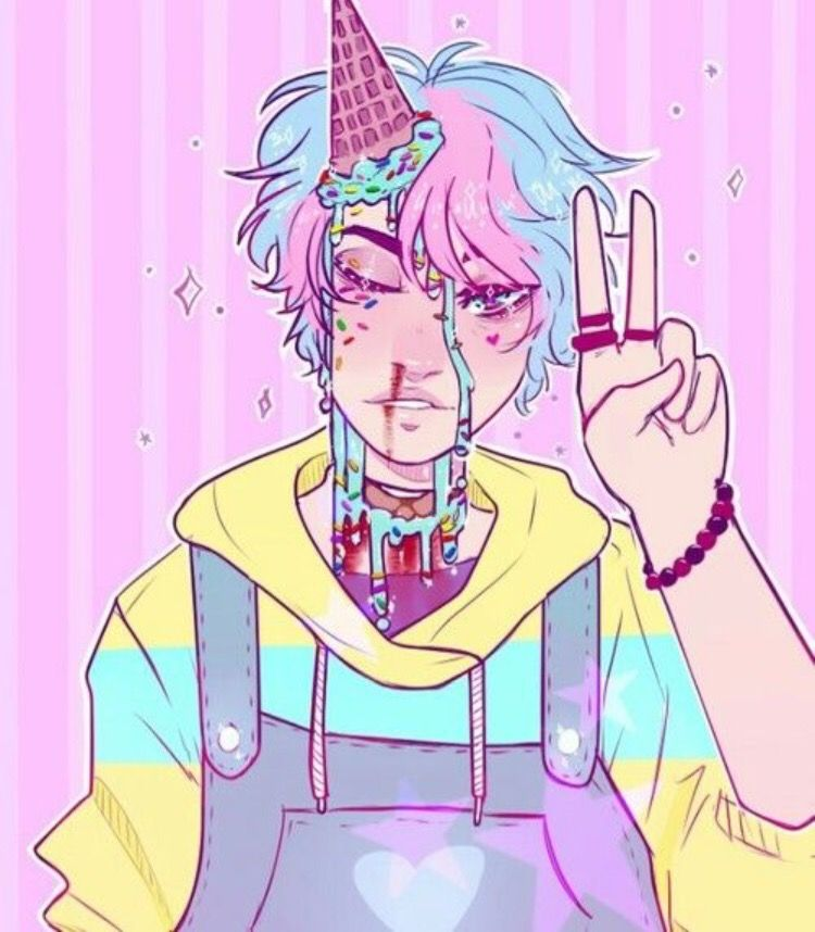 I Think Im Gonna Try To Draw Some Pastel Gore Because