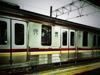 travel publictransport vintage commuterline