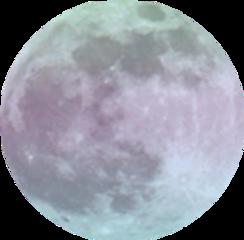 moon space galaxy tumblr sticker