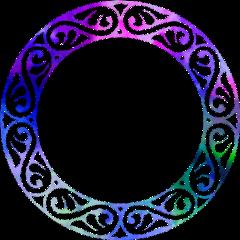 circle logodesigns mandalas colourful freetoedit