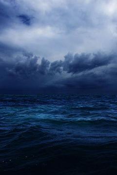 background seascape cloud skyscape freetoedit