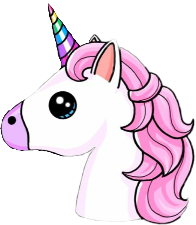 Unicorn sticker by fernanda💖
