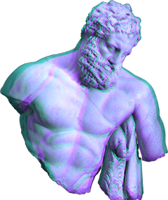 ftestickers sculpture holographic freetoedit