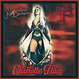 charlotteflair wrestling womenswrestling wwe thequeen freetoedit