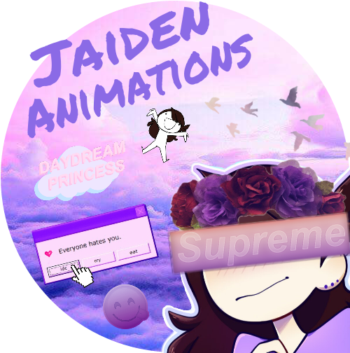 Im actually proud with myself :3  #jaidenanimations #purple