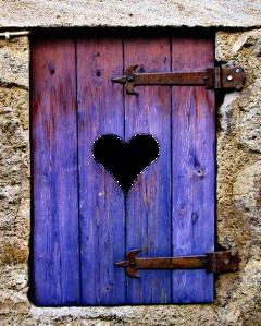 door window heart sticker freetoedit