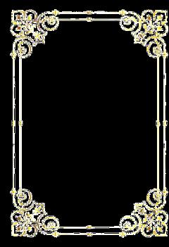 frame gold sticker freetoedit