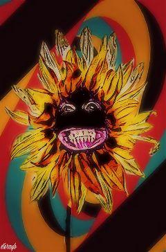 popart retro vintage psychedelic colorful