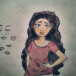 wdpfashion mydrawing drawing draw girl