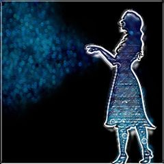 freetoedit magic bokeh bluemagic girl