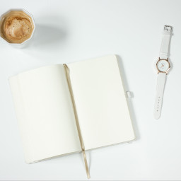freetoedit notebook watch coffe cup
