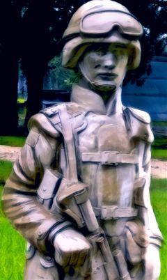 freetoedit statue soldier