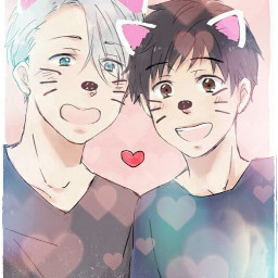 kawaii cute yurionice yuri_on_ice yurikatsuki