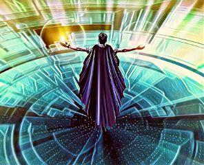 geomancy summoning man cape magic freetoedit