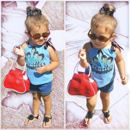 freetoedit sketchymagiceffect cute love toddler