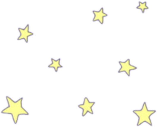 cute stars dailysticker star kawai remix clip art of flowers black and white clipart of flowers for gravestone