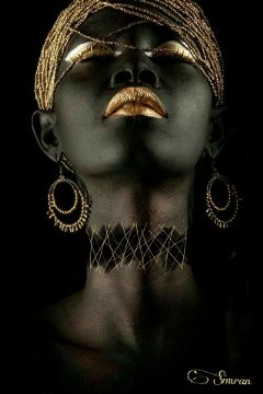 golden myedit black beautiful emotions