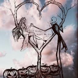jackandsally thenightmarebeforechristmas thenightmare love